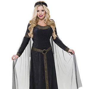 Charades 11 12 13 Renaissance Maiden Black